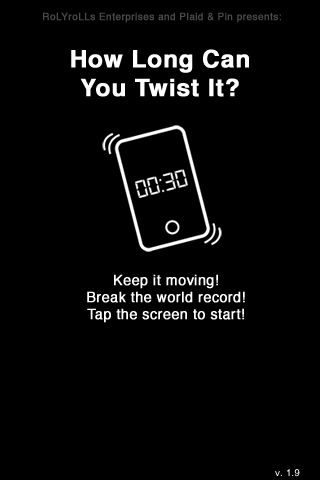 Screenshot How Long Can You Twist It?