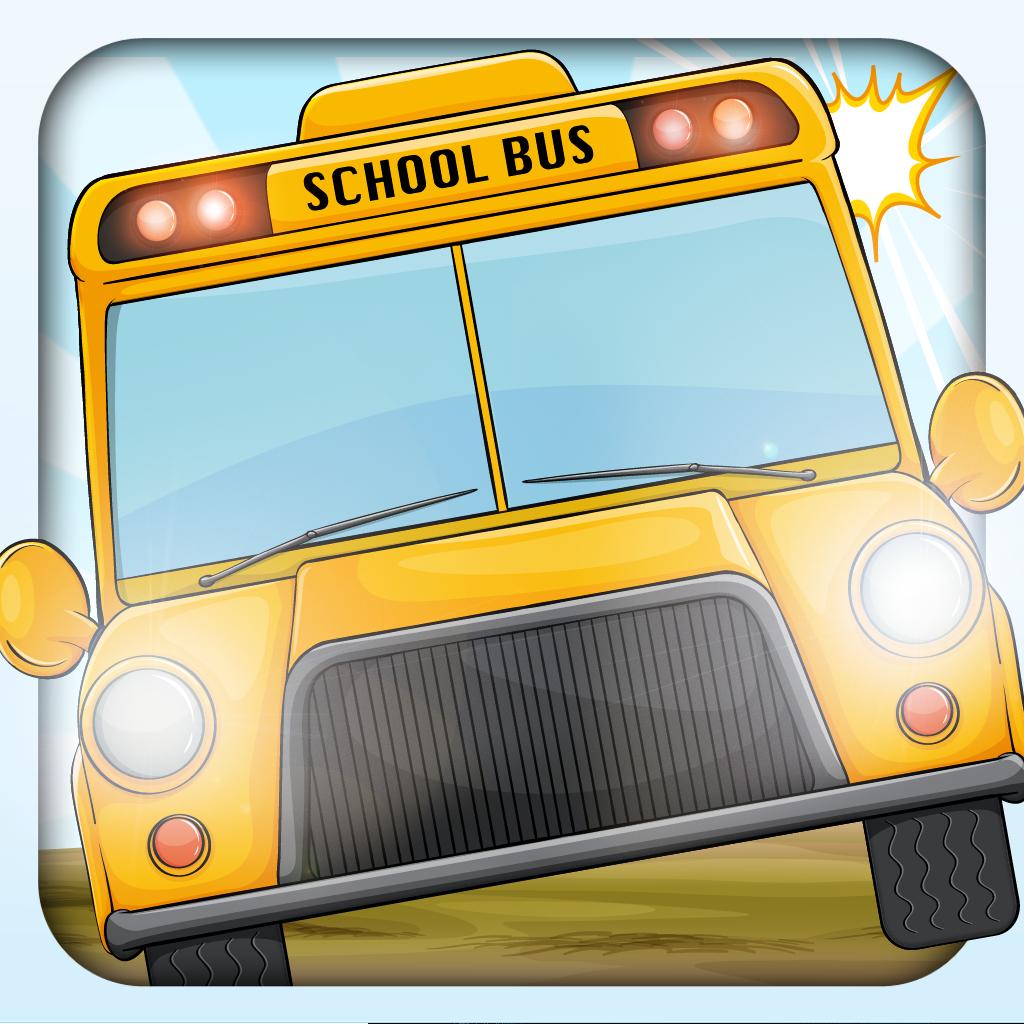 Crazy School Bus Race